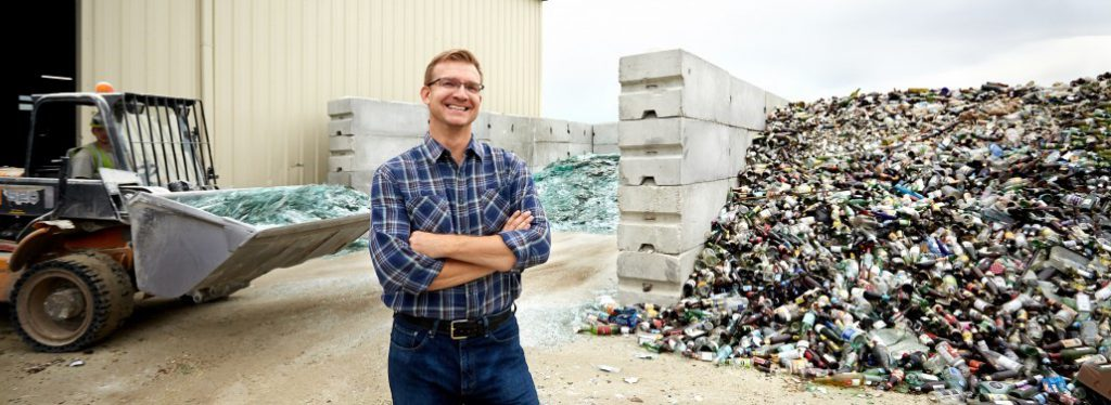 Momentum glass recycling